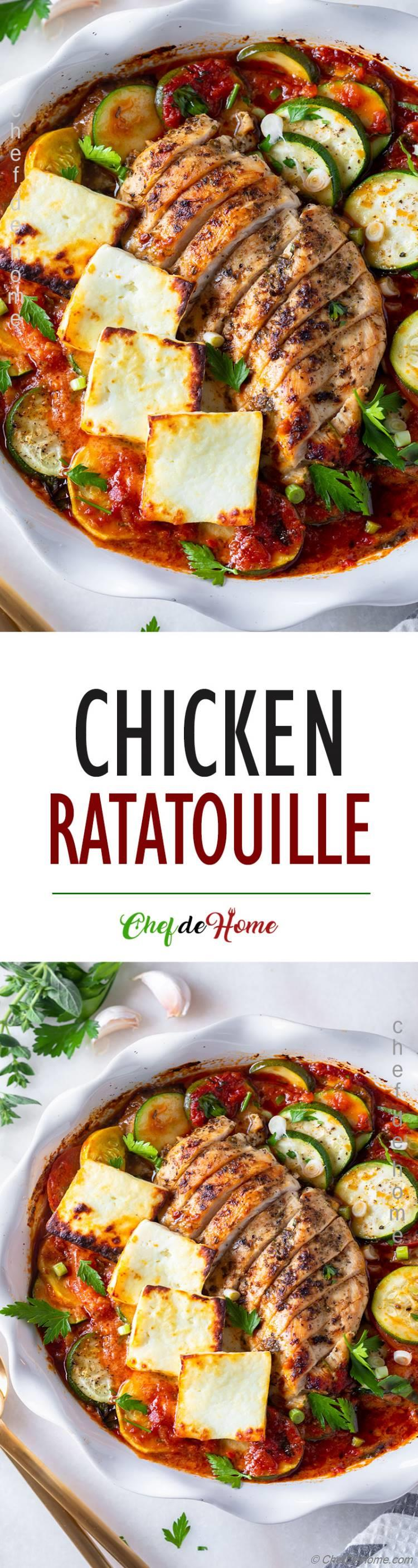 The best Chicken Ratatouille Recipe
