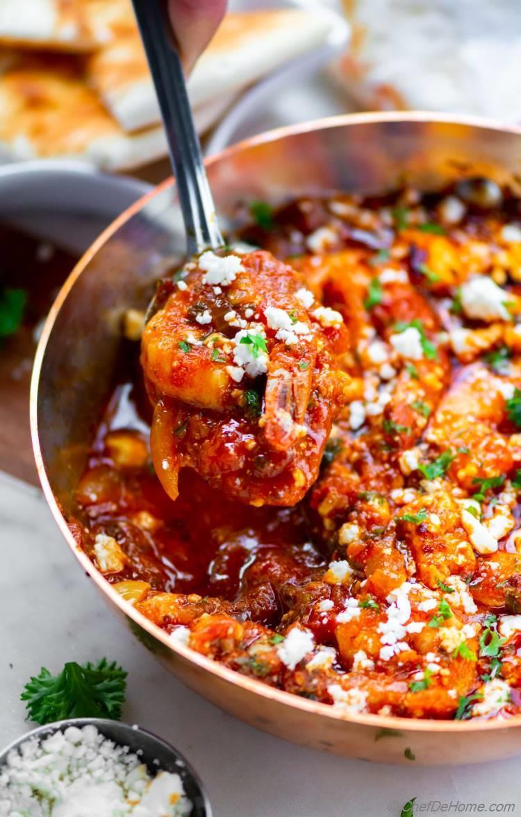 Shrimp Saganaki Dip Recipe