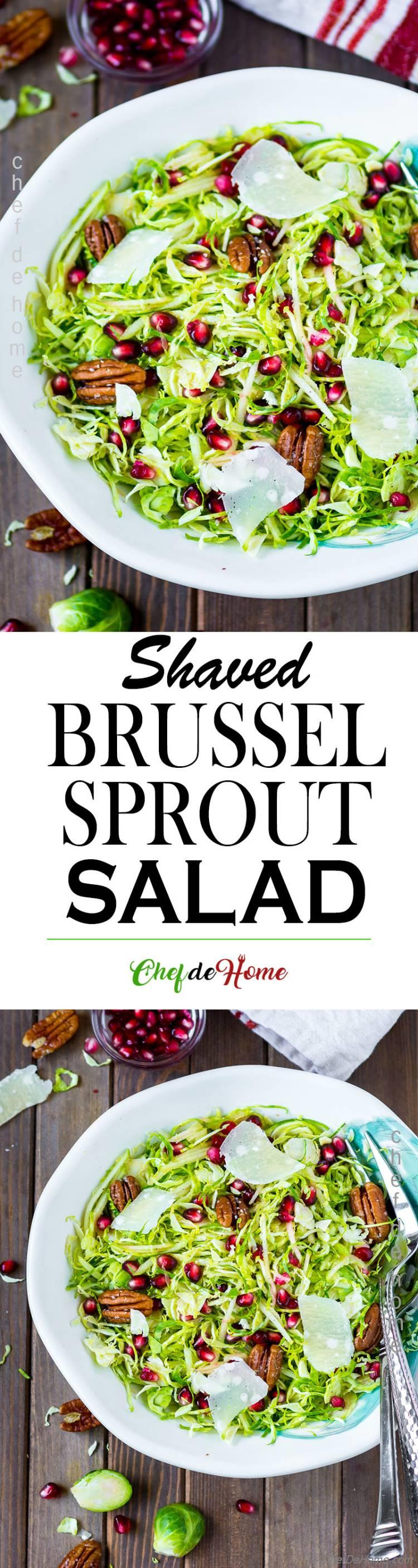 Brussel Sprout Salad Shaved
