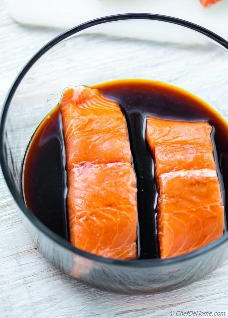Teriyaki Marinade for Salmon