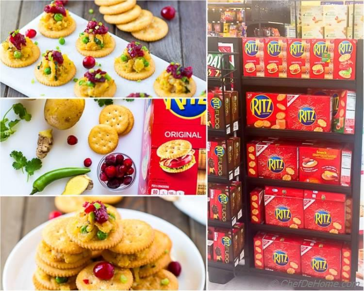 RITZ Crackers Walmart Display