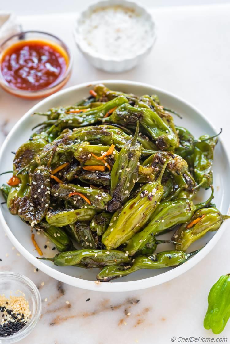 Shoshito Peppers Blistered Recipe