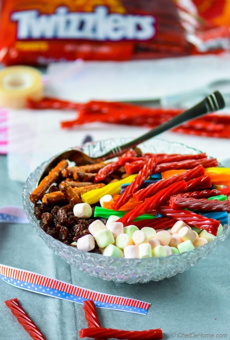 Summer Road Trip Snacks with Strawberry Twizzler Twists | chefdehome.com