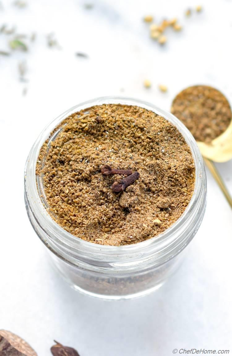 Homemade Blend of Garam Masala