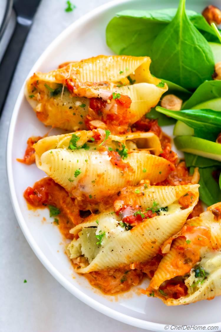Easy and Delicious Stuffed Shells Recipe
