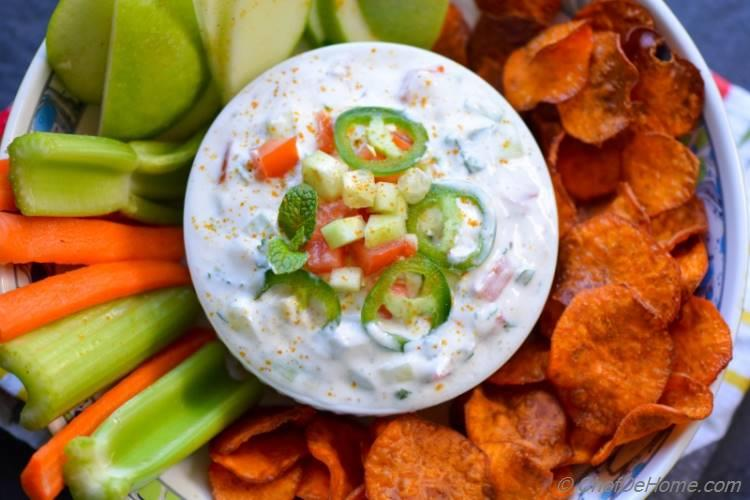 Veggie Loaded Super Bowl Game Day Snack Healthy and Scrumptious