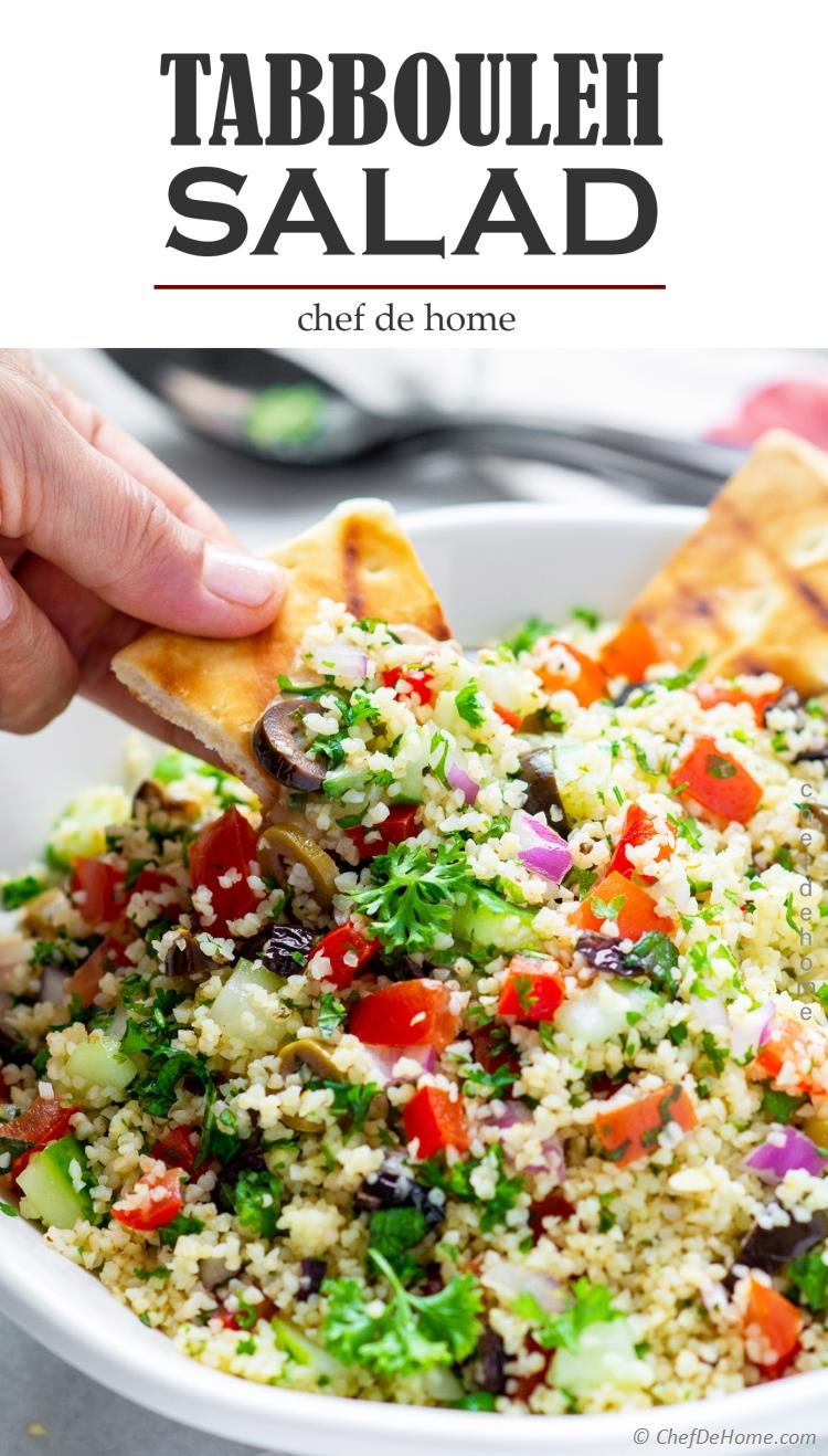 The best real Tabbouleh Recipe