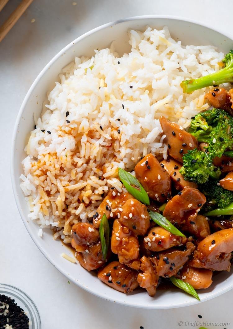Chicken Teriyaki with Rice Bowl
