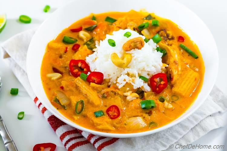 Homemade Coconut Red Curry