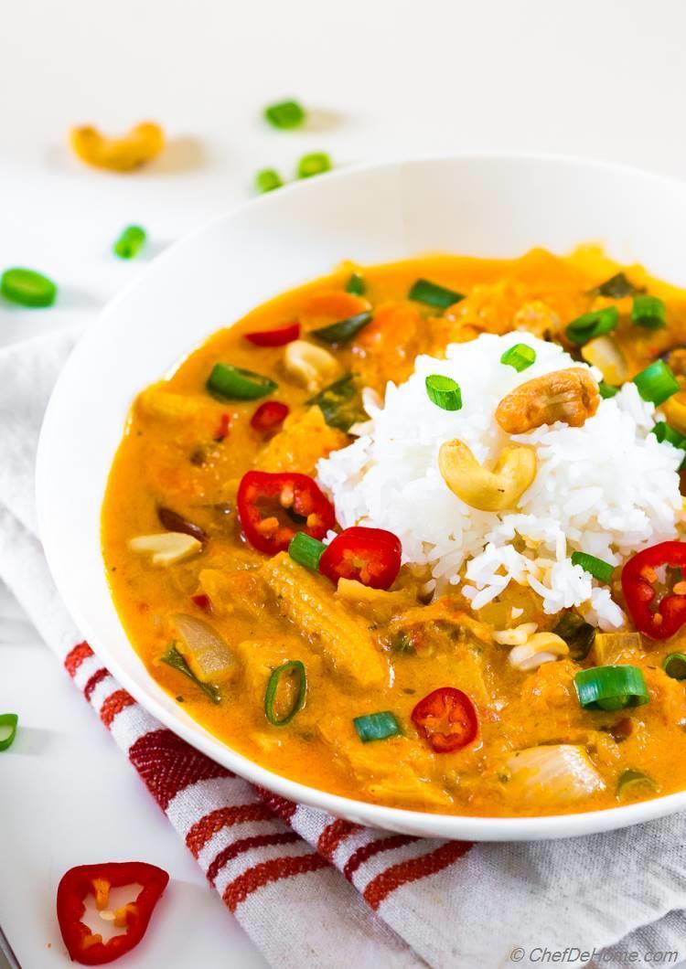 Homemade Red Curry Paste Recipe | ChefDeHome.com