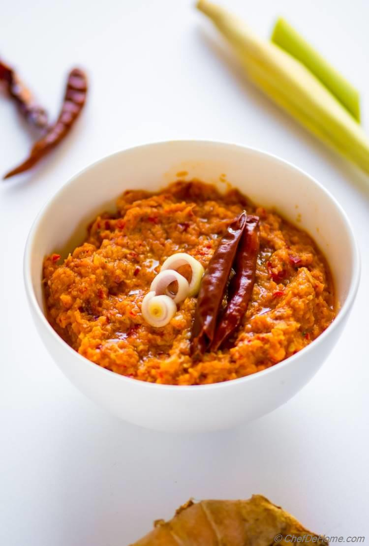 The best ever Thai Red Curry Paste
