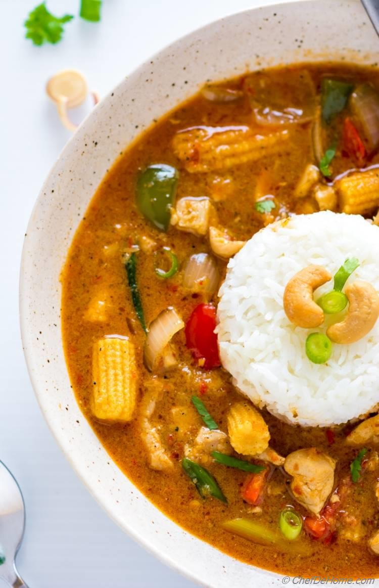 Easy delicious Thai Red Curry Recipe