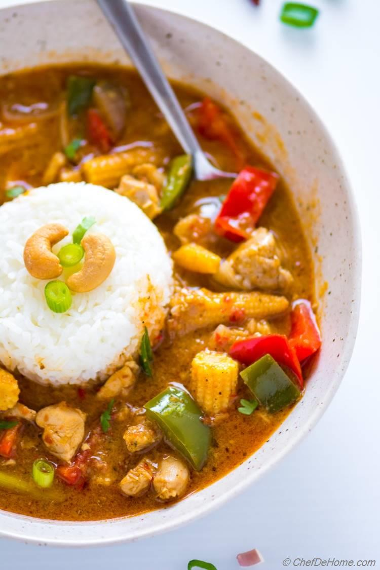 Easy Homemade Thai Red Curry