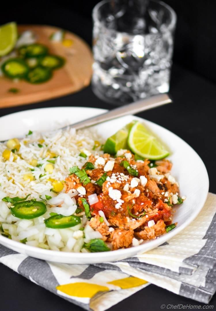 Slow Cooker Mexican Chicken Tinga