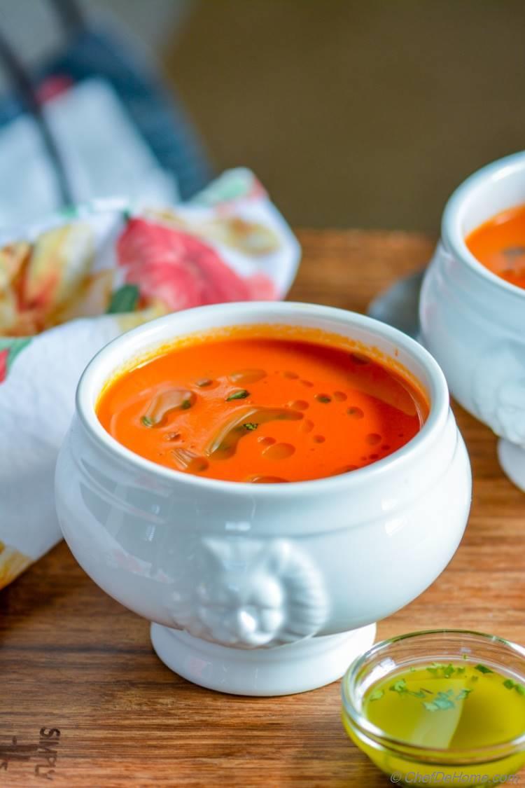 Rustic Italian Tomato and Bread Soup | chefdehome.com