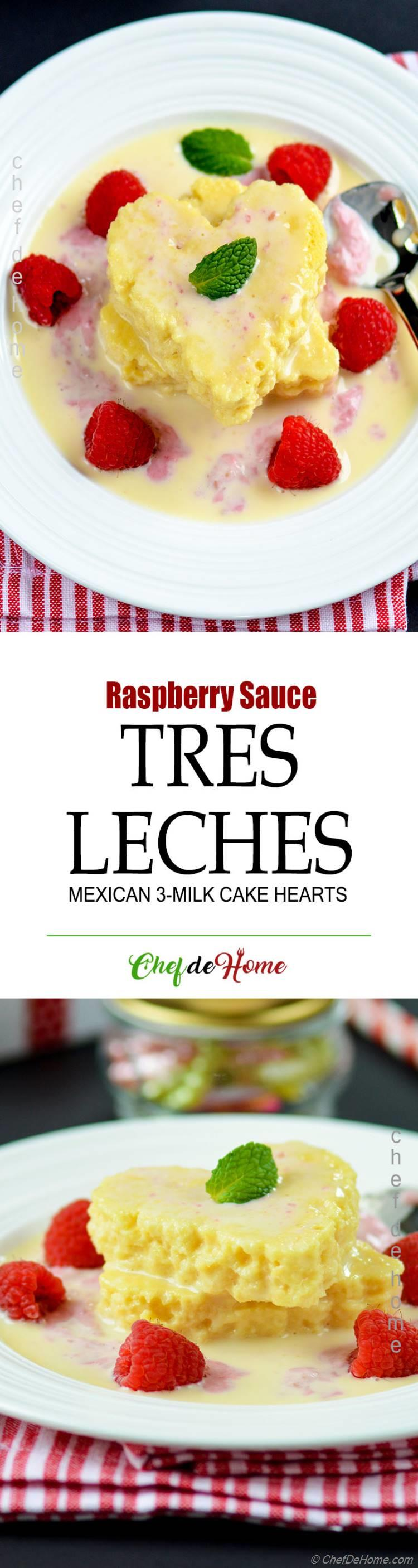 Mexican Dessert Tres Leches Cake Recipe
