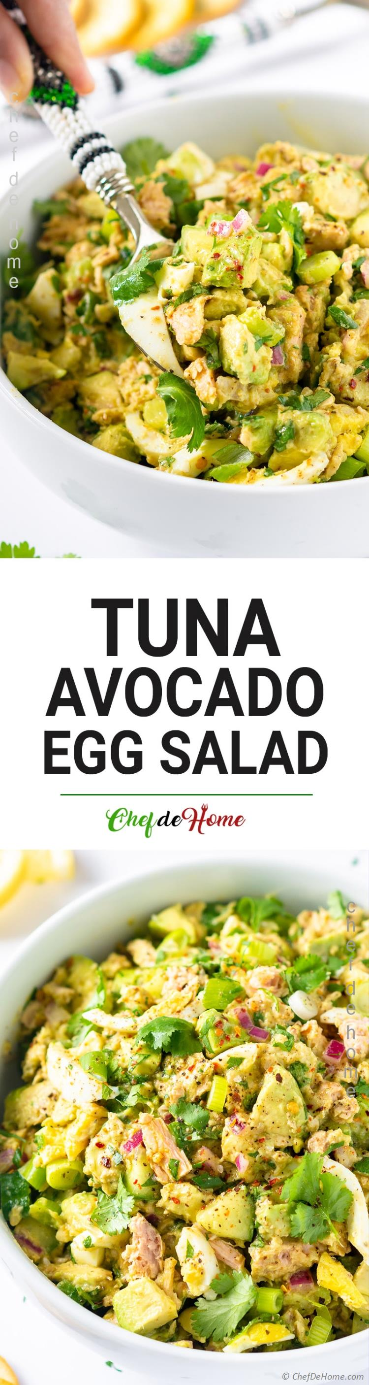 the best Avocado Tuna Salad