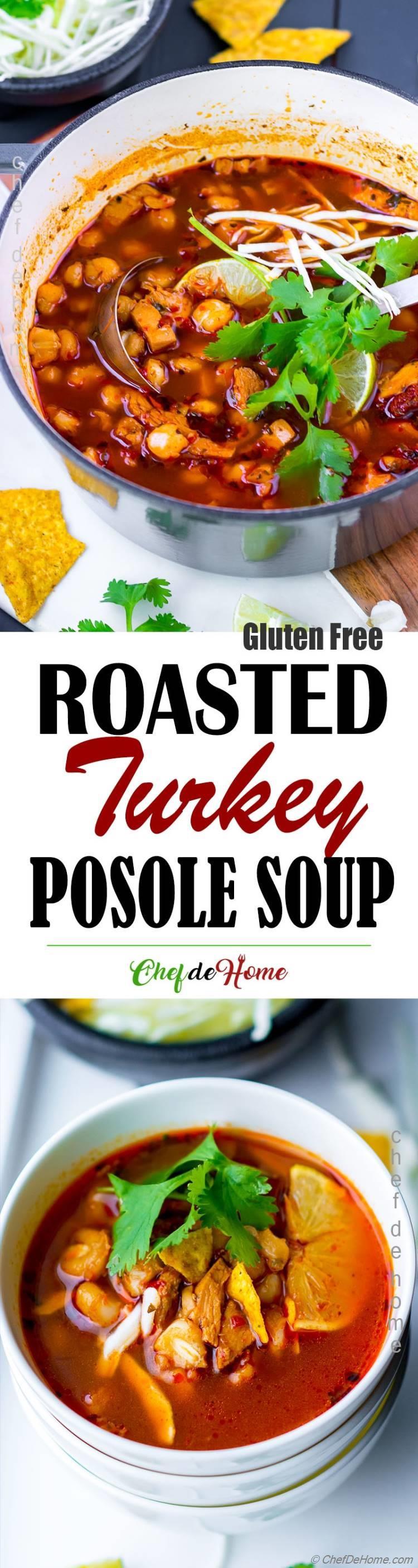 Roasted Turkey Soup