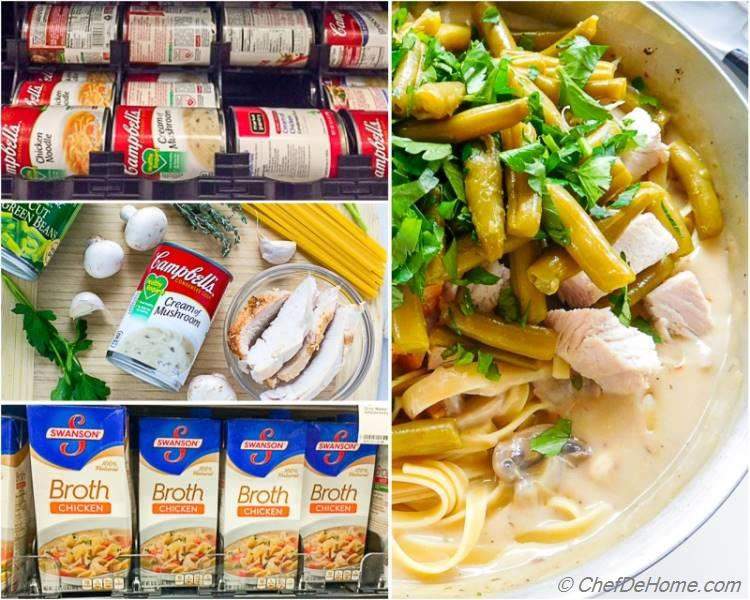 Turkey Tetrazzini Ingredients | chefdehome.com
