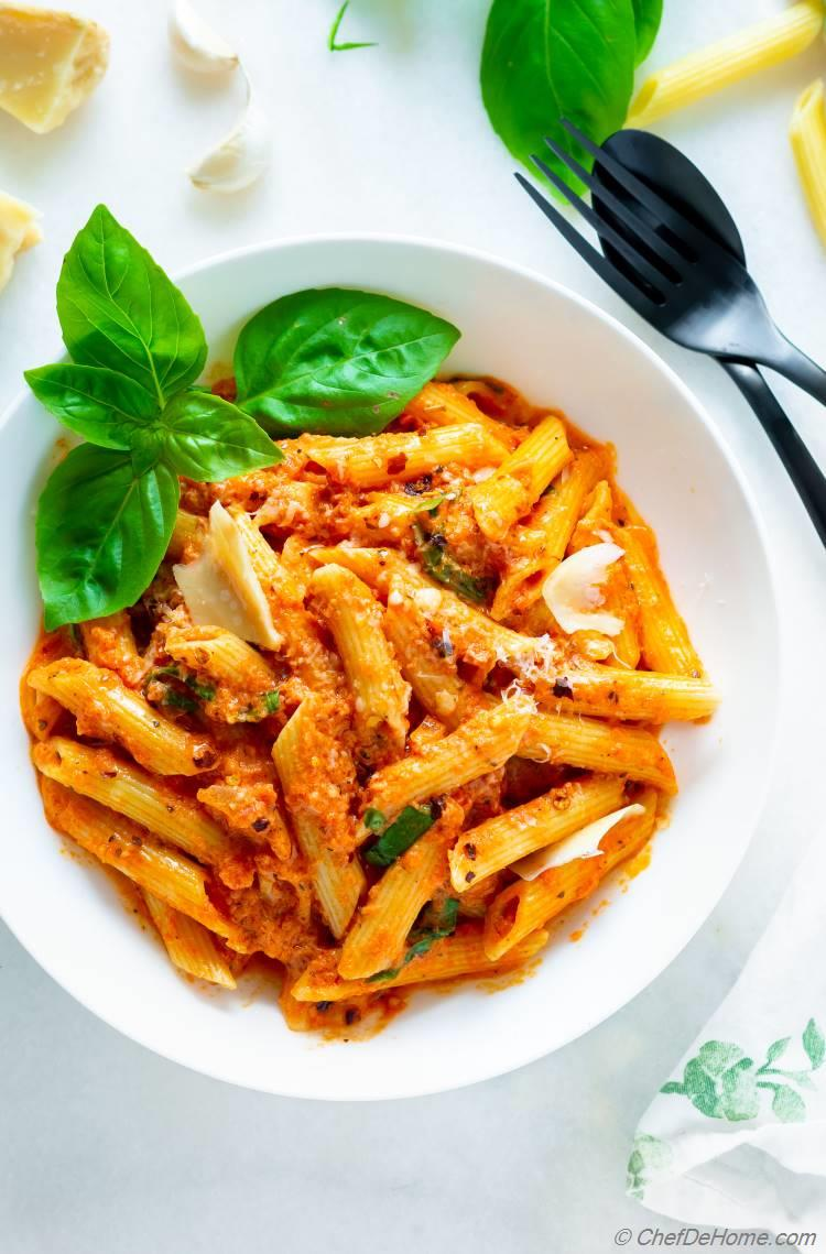 Penne Vodka Pasta Recipe