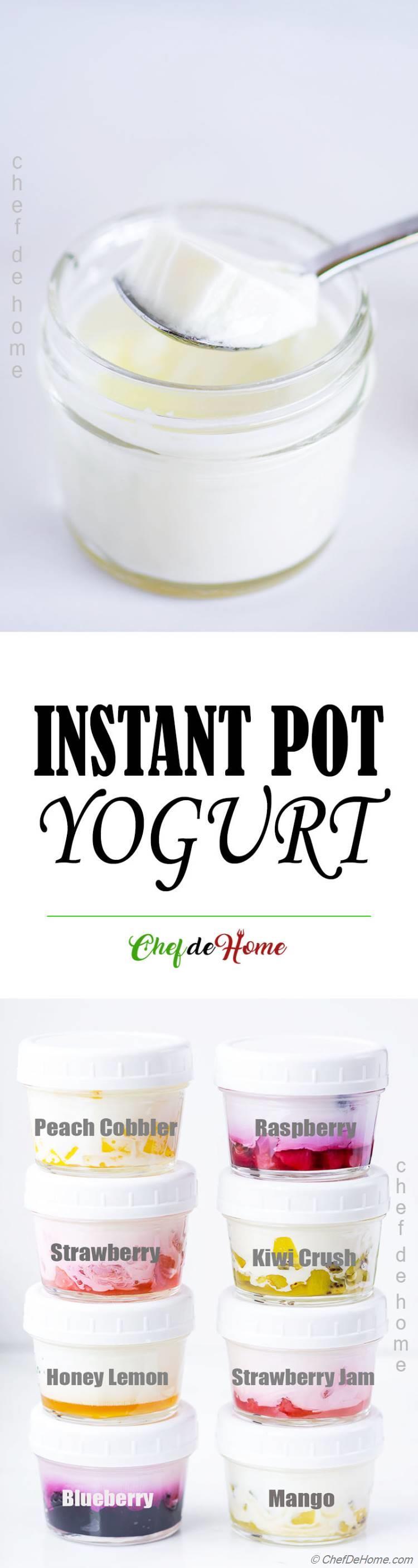 Making Yogurt in Instant Pot