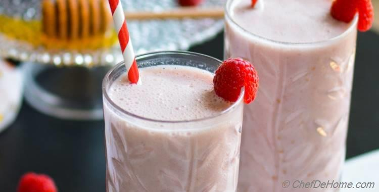 Raspberry French Vanilla Carnation Breakfast Shake