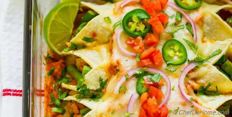 Chipotle Tofu Sofritas Vegetarian Enchiladas