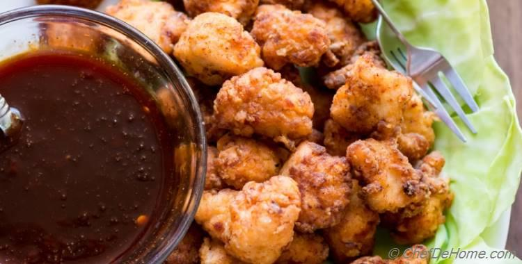 Firecracker Popcorn Chicken