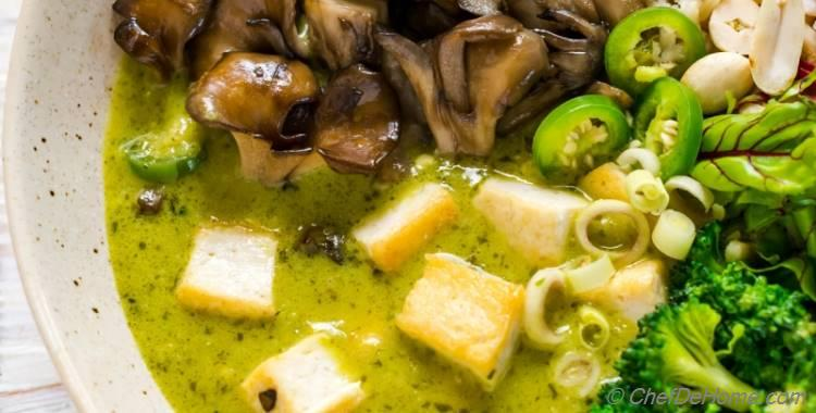 Easy Homemade Thai Green Curry