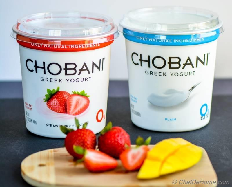 Chobani Non-Fat Greek Yogurt for Healthy Breakfast Smoothies | chefdehome.com