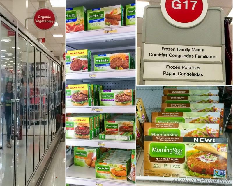 MorningStar Veggie Dinner Burgers and Products at Target | chefdehome.com