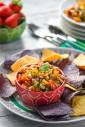 Roasted Poblano and Black-Eyed Peas Salsa
